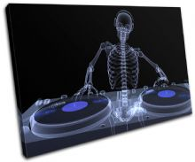 Skeleton DJ Club - 13-0760(00B)-SG32-LO